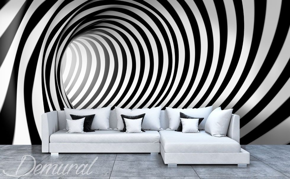 one two three black and white wallpaper mural photo wallpapers demural