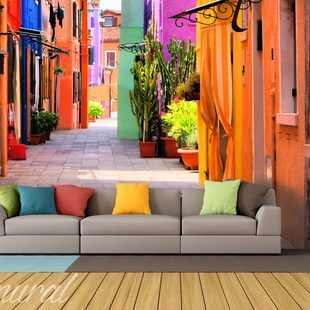 Digital fortress wall murals and photo wallpapers wall for Digital mural wallpaper