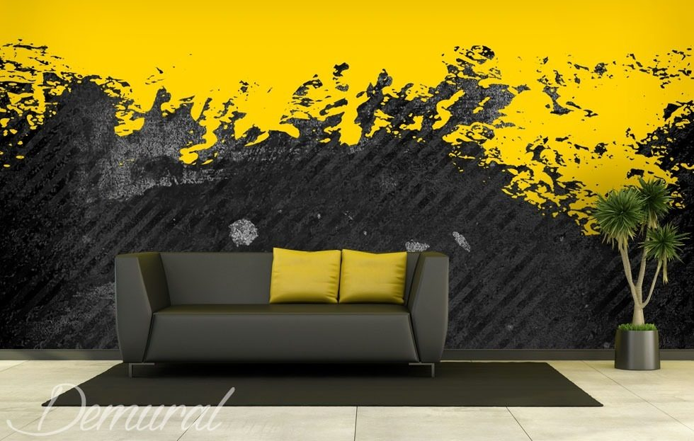 Spilled paint Abstraction wallpaper mural Photo wallpapers Demural