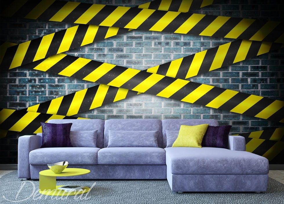 Banality warning Teenager's room wallpaper, mural Photo wallpapers Demural