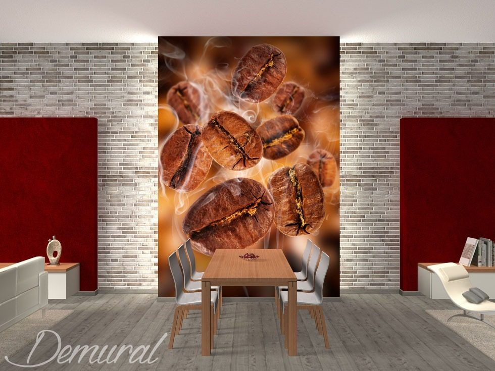 Aromatic beans Coffee wallpaper mural Photo wallpapers Demural