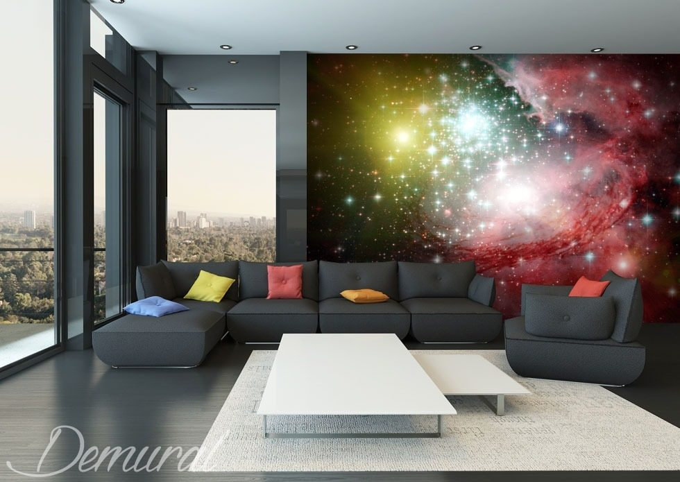 Colours of the universe Cosmos wallpaper mural Photo wallpapers Demural