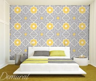 in a square bedroom wallpaper mural photo wallpapers demural
