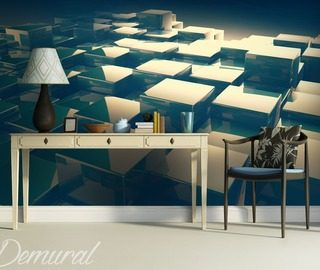 glass platforms three dimensional wallpaper mural photo wallpapers demural