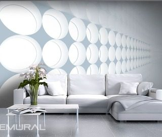 row of lights optically magnifying wallpaper mural photo wallpapers demural