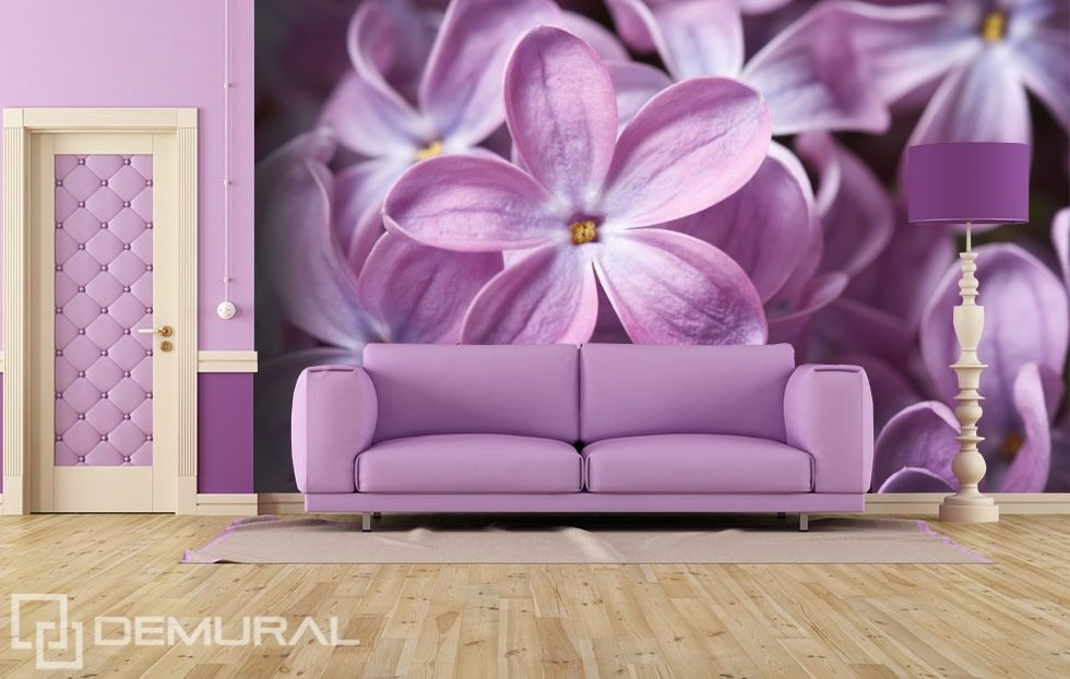 Elegant The Lilac Flower Flowers Wallpaper Mural Photo Wallpapers Demural Part 22