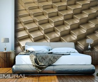 golden platforms three dimensional wallpaper mural photo wallpapers demural