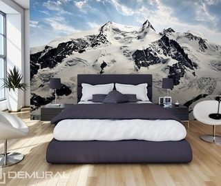 glow above the mountains bedroom wallpaper mural photo wallpapers demural