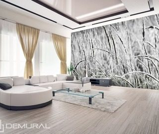 grass in the wind black and white wallpaper mural photo wallpapers demural