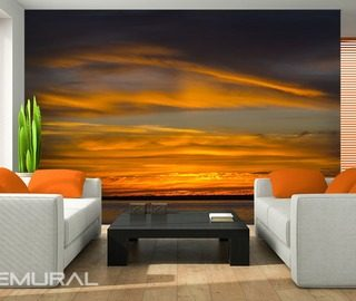 The-sea-sky-during-the-sunset-wall-murals-and-photo-wallpapers-sunsets-photo-wallpapers-demural