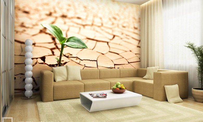 on dry ground landscapes wallpaper mural photo wallpapers demural
