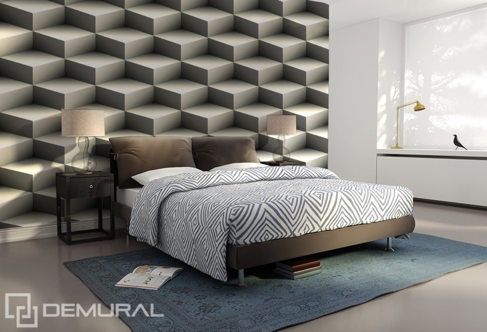 Three dimensional stairs wall murals and photo for 3 dimensional wallpaper