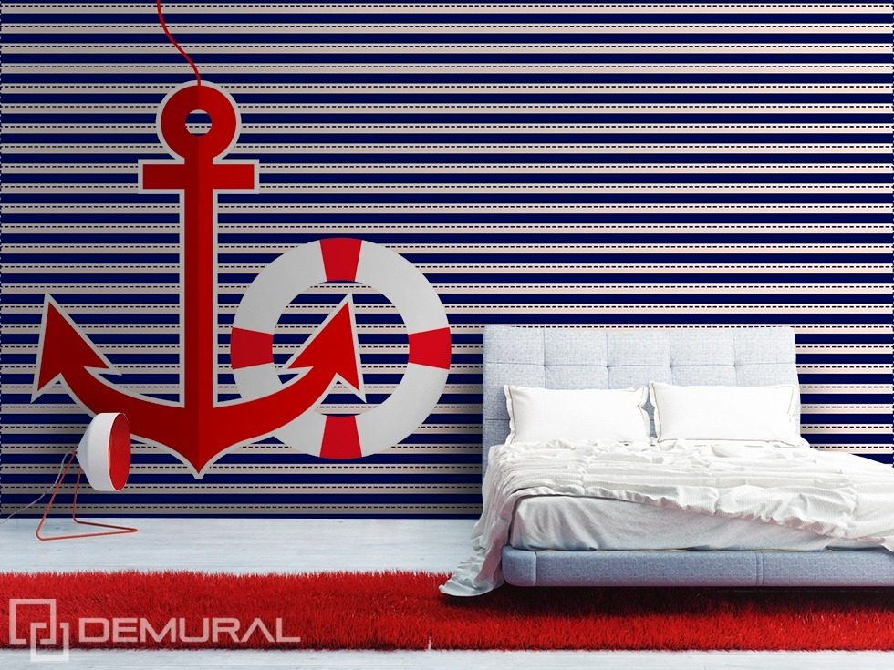 Sailing style Nautical style wallpaper, mural Photo wallpapers Demural