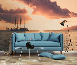 sea stories nautical style wallpaper mural photo wallpapers demural