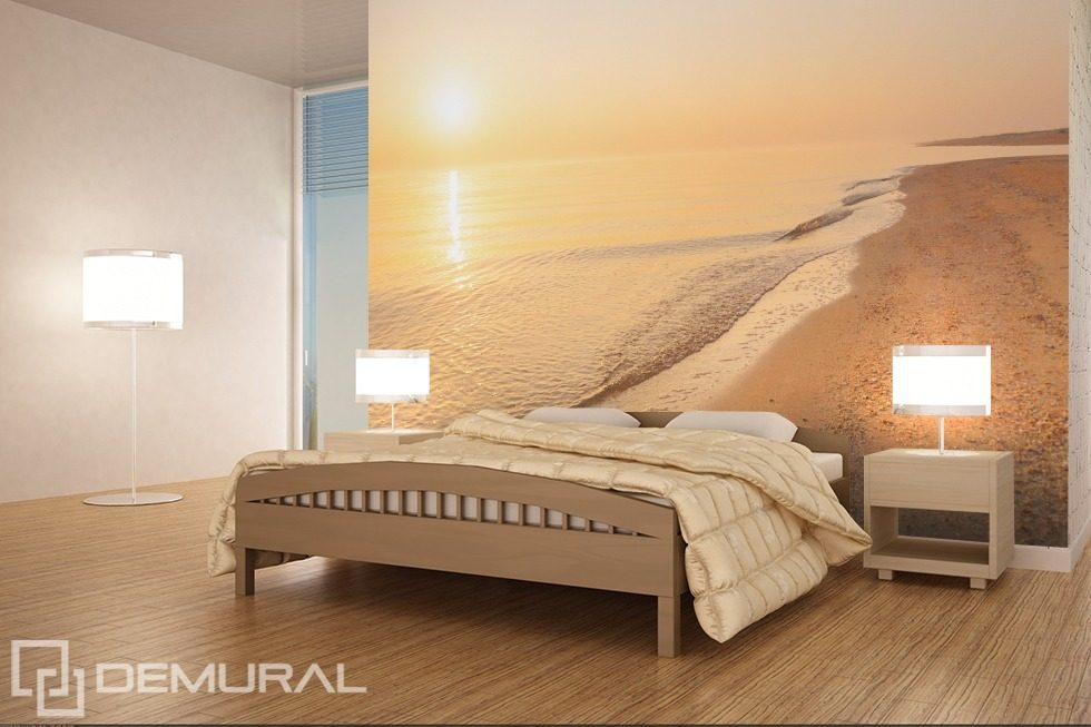 pastel beach landscapes wallpaper mural photo wallpapers demural