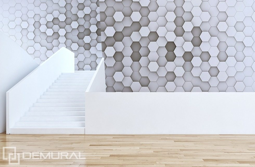 Like a honeycomb Abstraction wallpaper mural Photo wallpapers Demural