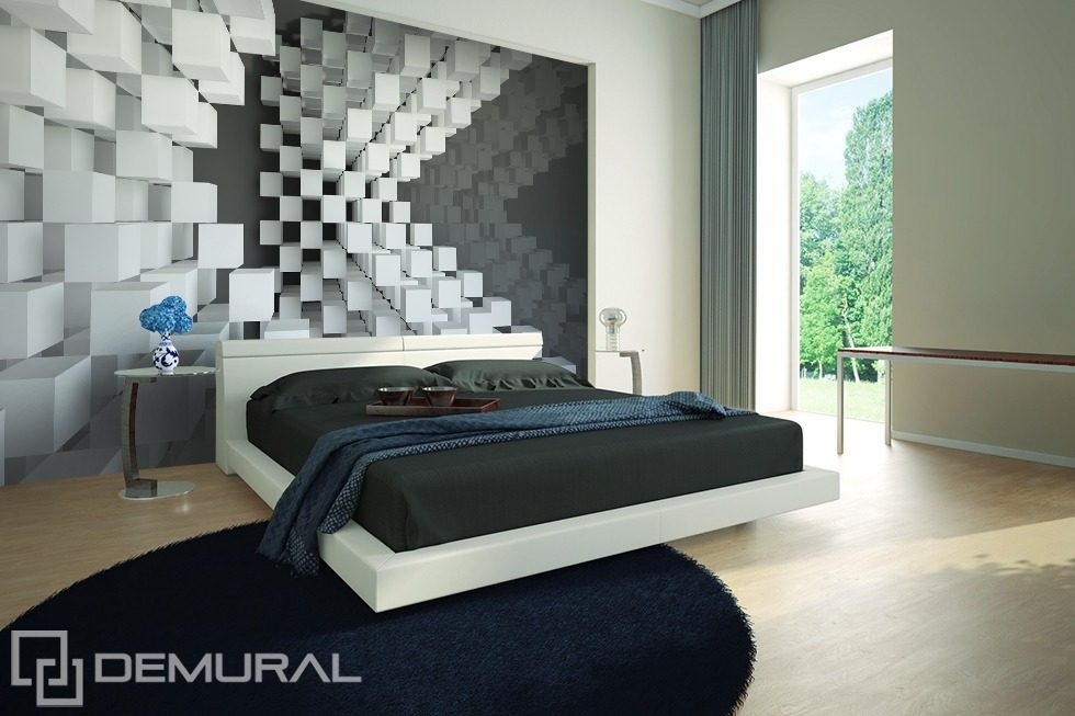Hung in the air Three-dimensional wallpaper, mural Photo wallpapers Demural