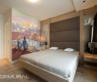 date on a roof bedroom wallpaper mural photo wallpapers demural