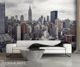 above new york cities wallpaper mural photo wallpapers demural
