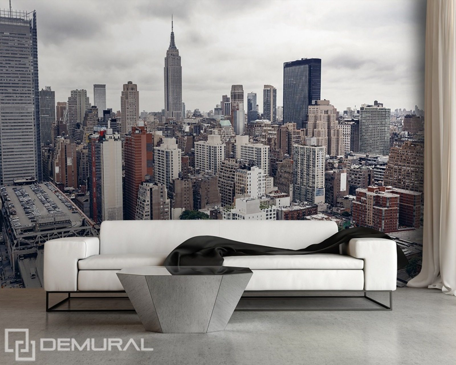 above new york cities wallpaper mural photo. Black Bedroom Furniture Sets. Home Design Ideas