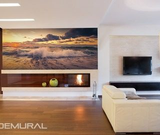 Sea-refreshment-wall-murals-and-photo-wallpapers-sunsets-photo-wallpapers-demural