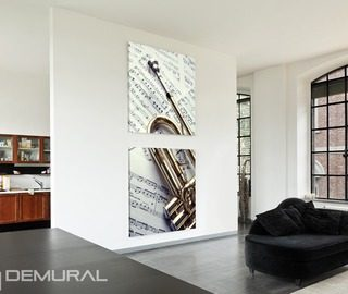 trumpet melody canvas prints music canvas prints demural