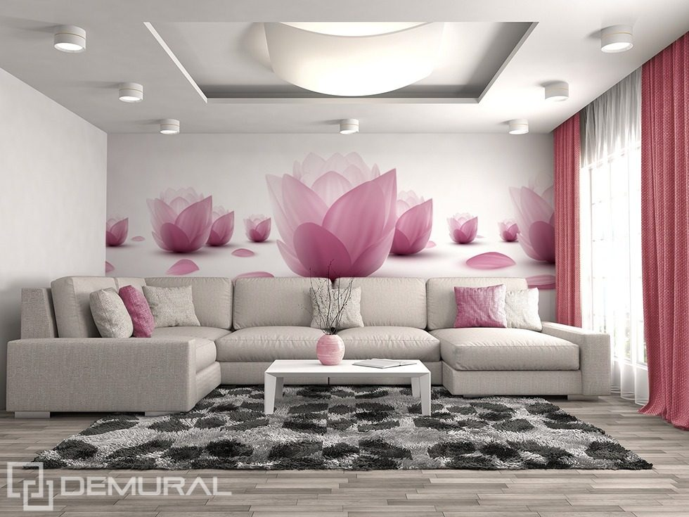 Floristic Gentleness Flowers Wallpaper Mural Photo