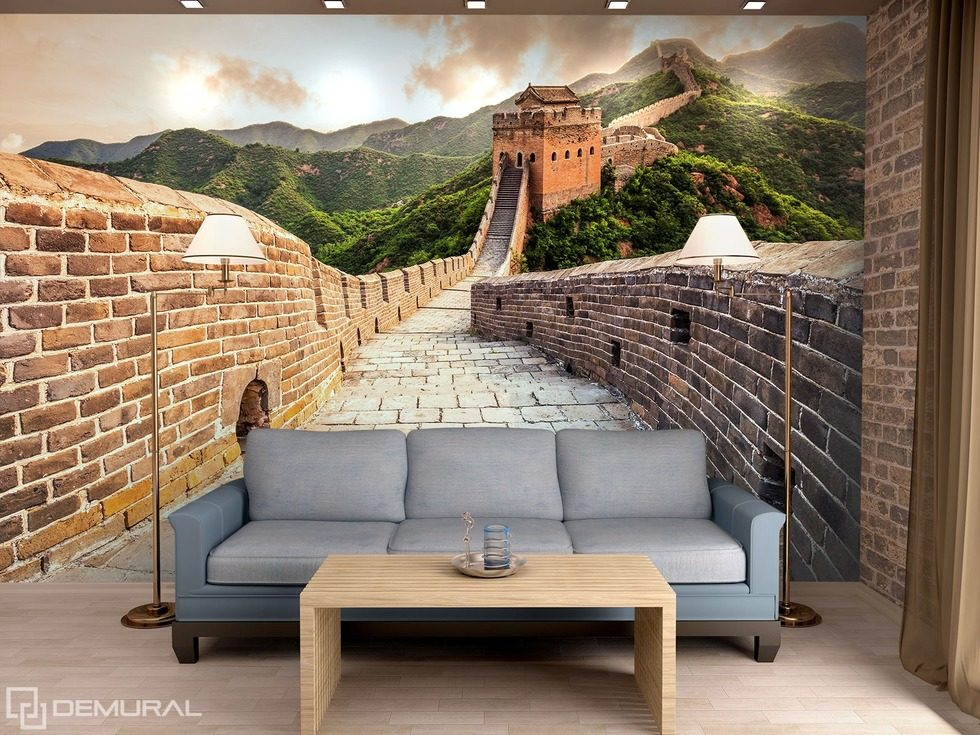 Among Great China Walls Oriental Wallpaper Mural Photo