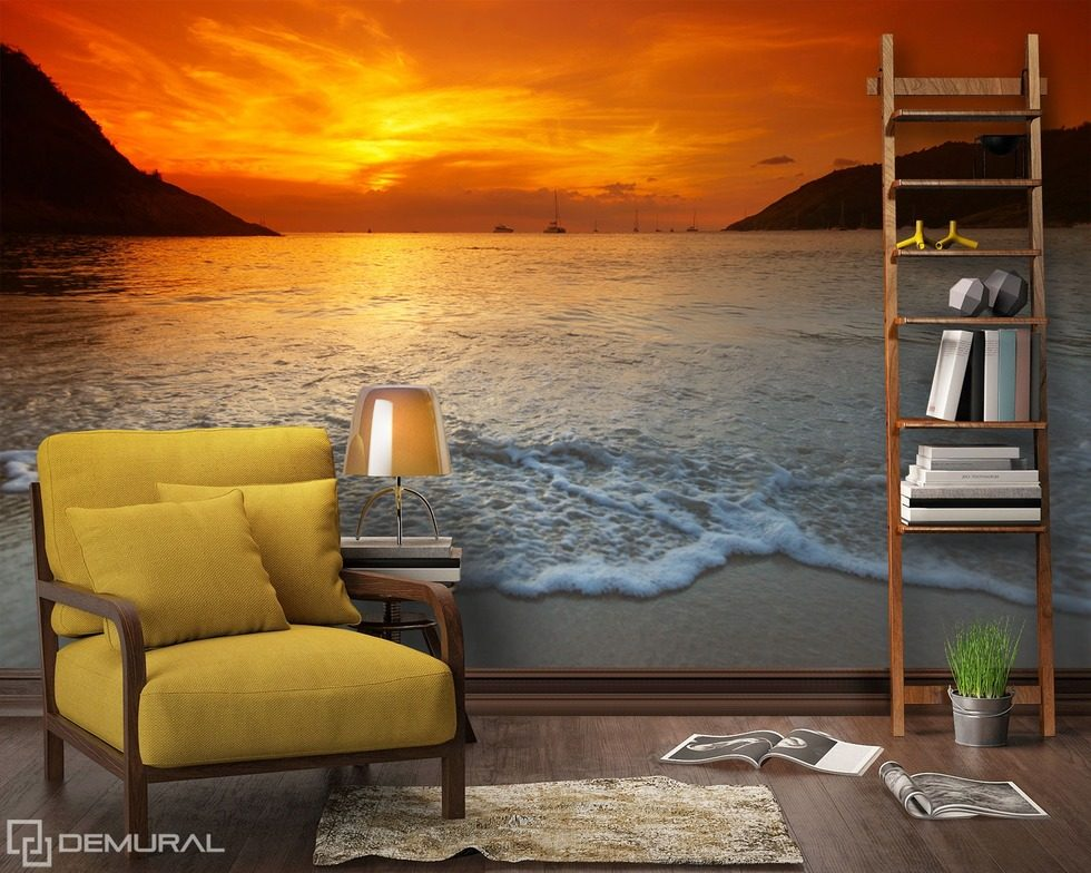 last sunsets sunsets wallpaper mural photo wallpapers demural