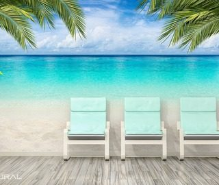 holydays in ocean tropics landscapes wallpaper mural photo wallpapers demural
