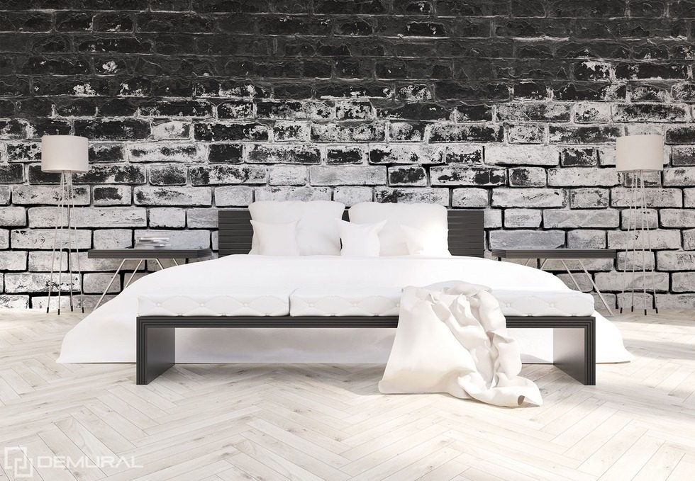 walls in contrasting black and white black and white wallpaper mural photo wallpapers demural