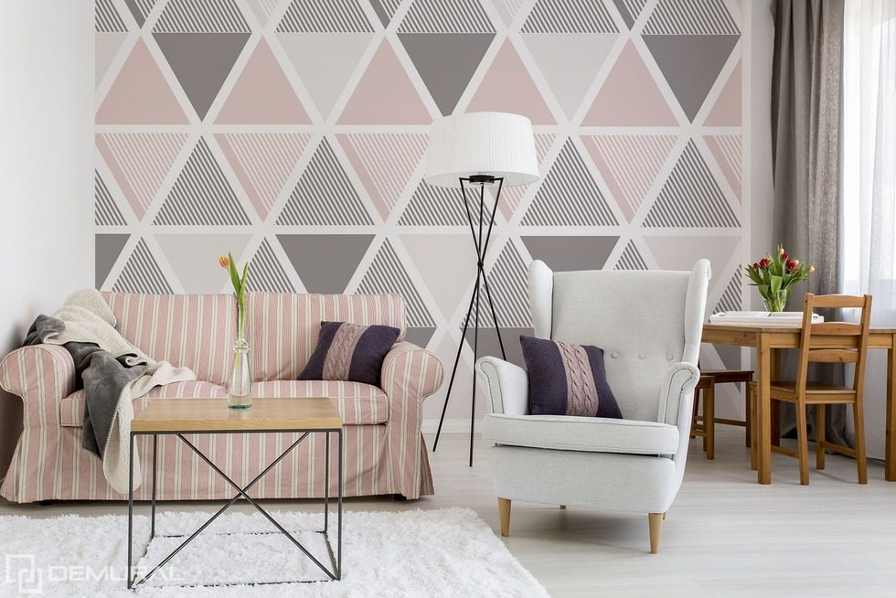 Geometrically based on the dynamics Patterns wallpaper mural Photo wallpapers Demural