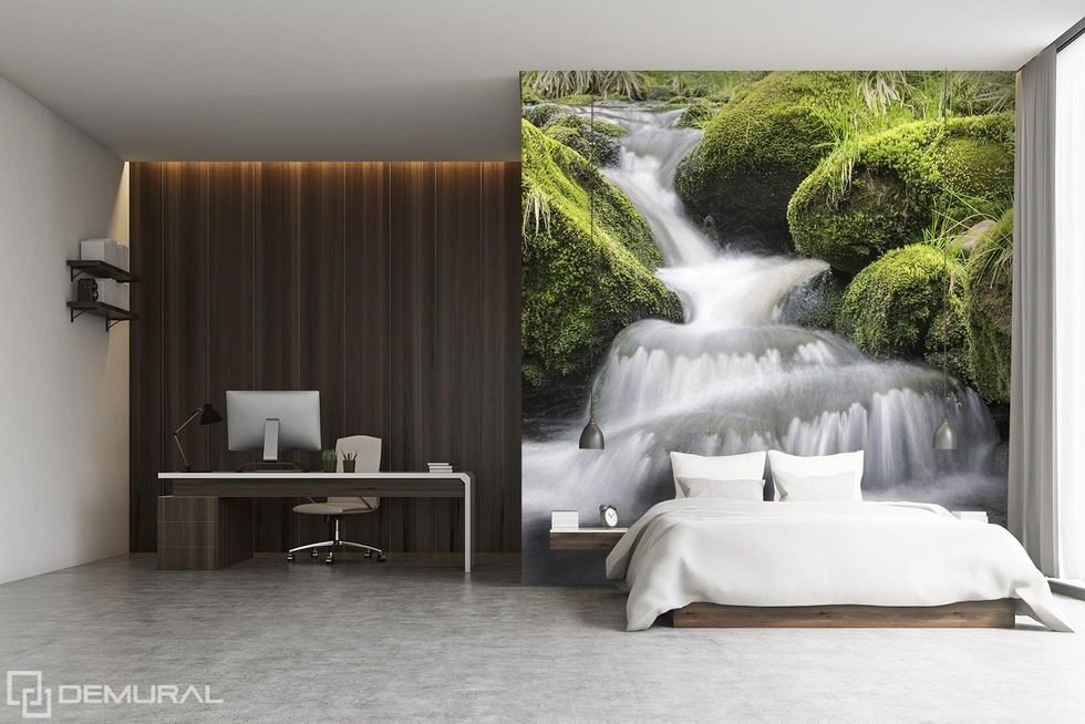 falling off the cliff the high waters bedroom wallpaper mural photo wallpapers demural