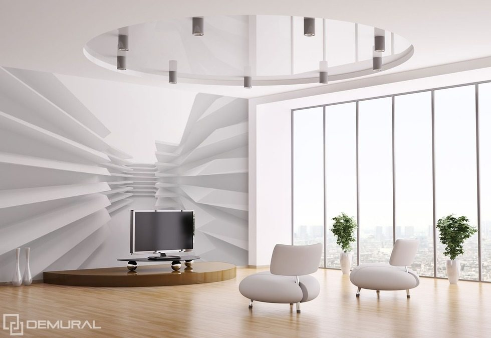 in the vision of the white space optically magnifying wallpaper mural photo wallpapers demural