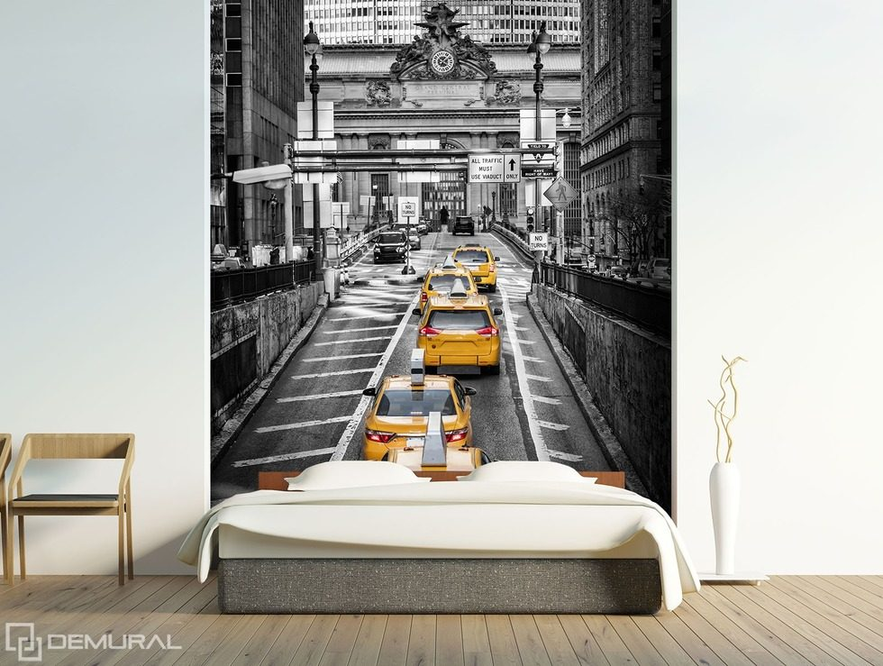 monothematically in black and white cities wallpaper mural photo wallpapers demural