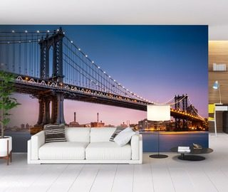 possibilities on the other side of the river bridges wallpaper mural photo wallpapers demural