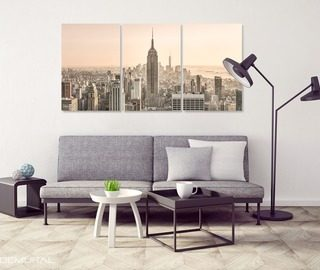 at the morning of the urban jungle canvas prints cities canvas prints demural