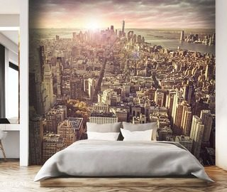 in the urban climate streets wallpaper mural photo wallpapers demural