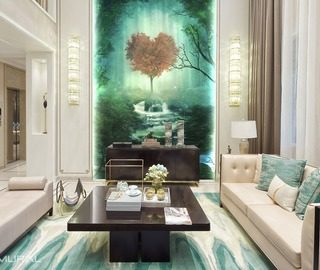 Series With Magic In The Room Living Wallpaper Mural Photo Wallpapers Demural