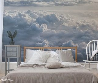 Photo wallpapers wall murals and canvas prints made to for Cloud wallpaper mural