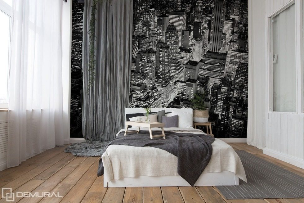 in the monochromatic cities black and white wallpaper mural photo wallpapers demural