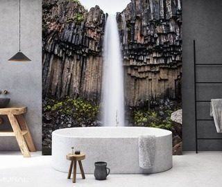 Subtleness Of The Nature Bathroom Wallpaper Mural Photo Wallpapers Demural