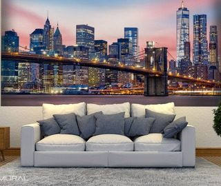 Great Magical Lights Of The City Cities Wallpaper Mural Photo Wallpapers Demural Amazing Ideas