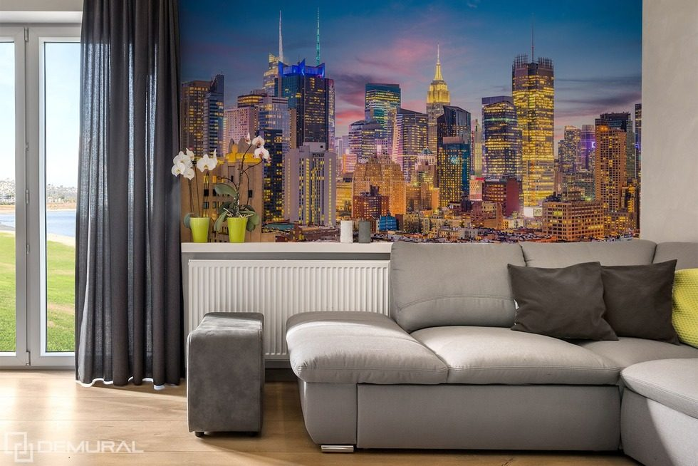 Metropolitan uniqueness Cities wallpaper mural Photo wallpapers Demural
