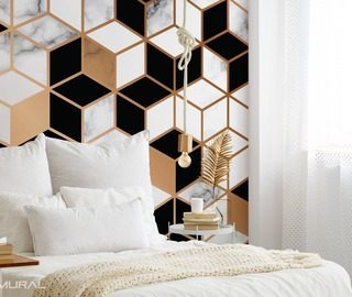 geometric ideal patterns wallpaper mural photo wallpapers demural