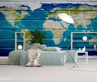 world within reach world maps wallpaper mural photo wallpapers demural