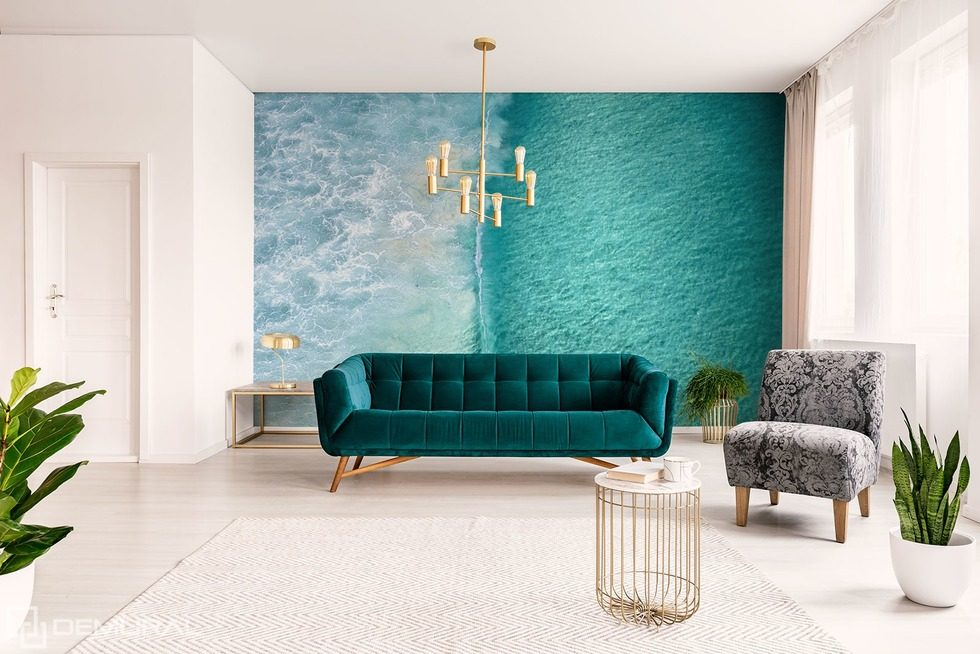Water beauty Nautical style wallpaper, mural Photo wallpapers Demural