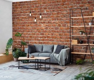 the charm of a brick texture wall wallpaper mural photo wallpapers demural