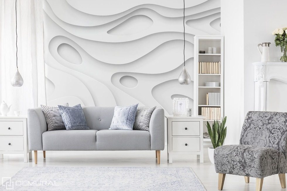 Let there be luminosity! Three-dimensional wallpaper, mural Photo wallpapers Demural