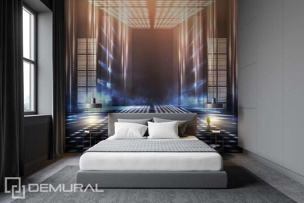 The gate leading to the future Three-dimensional wallpaper, mural Photo wallpapers Demural